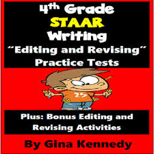 4th grade staar writing editing and revising practice tests by