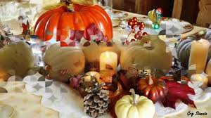 Thanksgiving Table Setting by Glittering Thanksgiving Table Setting And Centerpiece Ideas Youtube