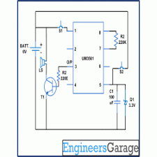 2 in 1 doorbell circuit diagram