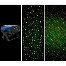 chauvet dj ez laser rgfx battery powered compact stage laser