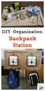 kids organization the 25 best backpack station ideas on pinterest kids backpack