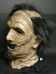 leatherface mask leather mask side by shockstudios on deviantart