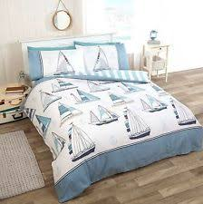 Nautical Themed Bedding Pillow Case Striped Nautical Bedding Sets U0026 Duvet Covers Ebay