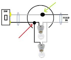 using power source from light fixture to power a seperate light