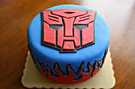 optimus prime cakes of dessert tutorial transformers autobot cake