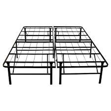 steel bed frame foundation platform twin metal bed frame mattress