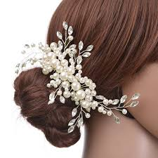 bridal hair accessories wedding hair accessories pearl flower