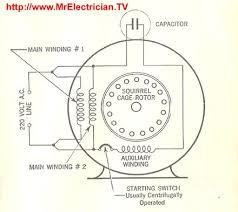dual run capacitor wiring diagram circuit and schematics diagram
