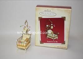 hallmark 2004 parents to be ornament cradle qxg5734