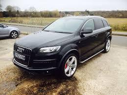Audi Q7 Black Edition - 2012 audi q7 3 0 tdi quattro s line plus edition panoramic roof