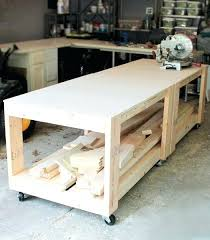 rolling work table plans decoration rolling workbench plans download by diy rolling