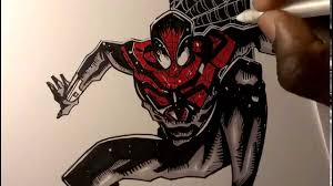 drawing the superior spiderman marvel comics youtube