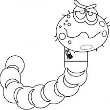 sick earthworm coloring pages batch coloring