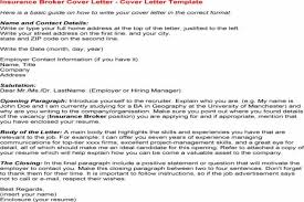insurance broker resume insurance resumes manager resume example