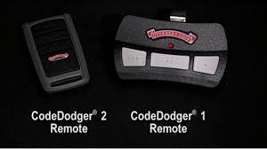 Overhead Door Codedodger Programming Programming Codedodger Remotes