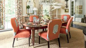 orange dining room 2016 idea house the dining room southern living