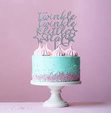twinkle twinkle cake topper baby girl cake baby boy cake gender reveal twinkle twinkle
