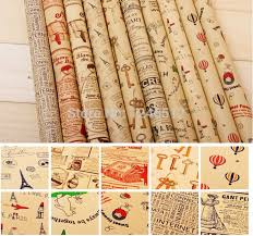 christmas kraft wrapping paper 2018 size wrapping paper vintage newspaper gift wrap