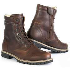 tcx motorcycle boots stylmartin ace boot tan brown bike exif equipment