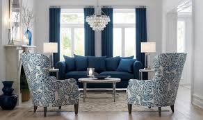 Living Room Arm Chairs Blue Color In Interior Collections Home Interior