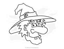pictures of witches to color u2013 fun for halloween