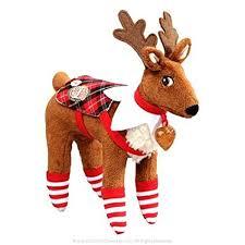 on shelf reindeer on the shelf polar pattern set for reindeer toys