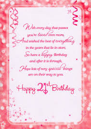 21st birthday greeting card messages best happy birthday wishes