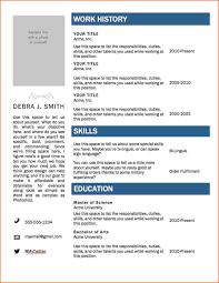 Proper Format For Resume Resume Format For Word Anzupublishing Us