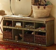Southport Shoe Storage Bench With Cushion Shoe Cabinet With Bench Foter