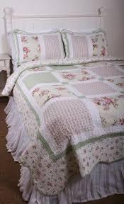 Roses Duvet Cover Patchwork Bedding Sets Foter