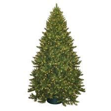 foam plastics 9 ft pre lit montana pine artificial christmas tree