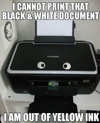 Printer Meme - asshole printer meme by shzball memedroid