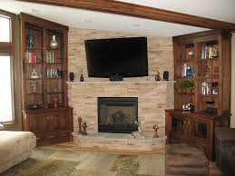 custom made fireplace bookshelves walnut by timeless woodworks