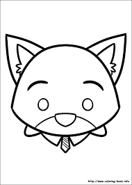tsum tsum coloring pages coloring book