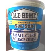 Daisy Low Fat Cottage Cheese by Old Home Small Curd Cottage Cheese Calories Nutrition Analysis