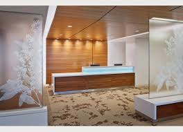 Dental Reception Desk Designs Accent Lighting On Wood And Reception Desk Frosted Glass With