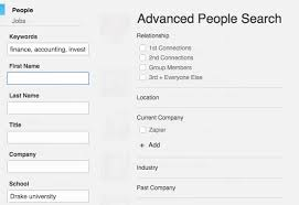 sales keywords how to use linkedin search to find sales leads hire top