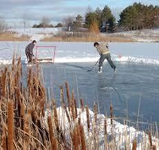 skating the pond s