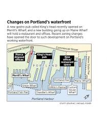 Portland Maine Zoning Map by New Building On Maine Wharf Reflects Portland U0027s Changing