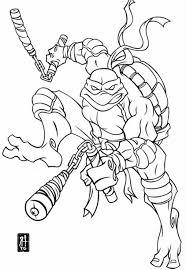teenage mutant ninja turtles michelangelo coloring pages get this