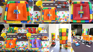 2nd Birthday Decorations At Home Lego Party Ideas Lego Party Birthday Theme At Birthday In A Box