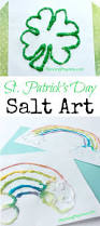 st patrick u0027s day salt art planning playtime