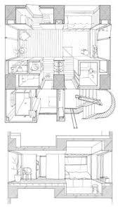 House Architecture Drawing Hiroyuki Ito Tatsumi Apartment House Tokyo 21 Plans