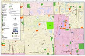 Map Of Broward County Florida by Healthy Community Zones Maps Touch Broward