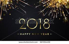 happy new year backdrop happy new year 2018 vector illustration stock vector 511677664