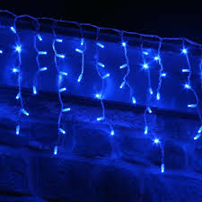 blue white christmas lights blue and white christmas lights led wire outdoor comexchange info