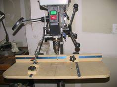 Diy Drill Press Table by Diy Woodworking Drill Press Table Plans Drills Table Saw Fence