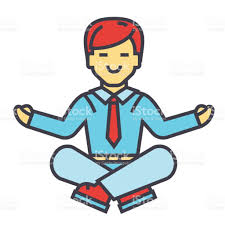Dropbox Corporate Office Businessman Sitting In Yoga Pose Business Meditation Corporate
