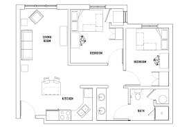 2 bedroom 1 bath floor plans 2 bedroom 1 bath housing des