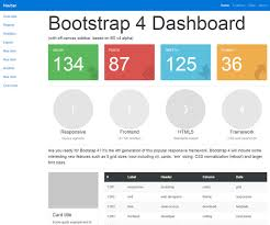 template dashboard free 35 free premium bootstrap admin dashboard templates